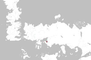 Mapa Astapor