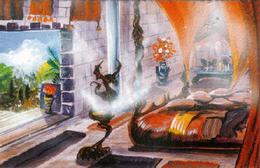 Daenerys's Chambers by Franz Miklis, Fantasy Flight Games©