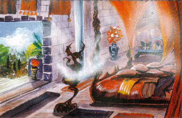 Archivo:Daenerys's Chambers by Franz Miklis, Fantasy Flight Games©.png