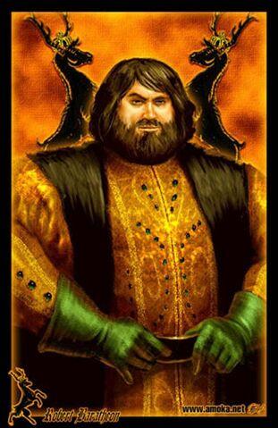 Archivo:Robert Baratheon by Amoka©.jpg
