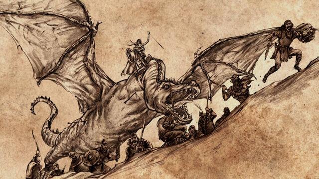 Archivo:Rhaenys Targaryen Meraxes HBO.jpg