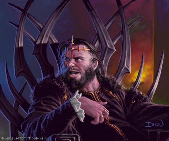 Archivo:Robert Baratheon by Chris Dien, Fantasy Flight Games©.jpg