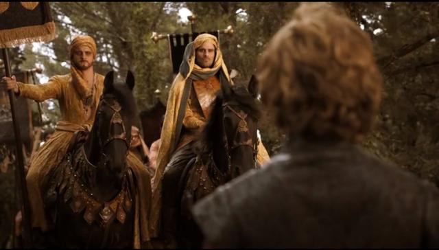 Archivo:Dornienses llegan a Desembarco del Rey HBO.png