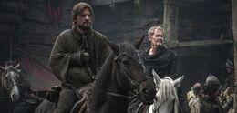 Jaime y Qyburn HBO