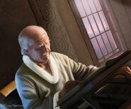 Maestre Luwin by Tiziano Baracchi, Fantasy Flight Games©