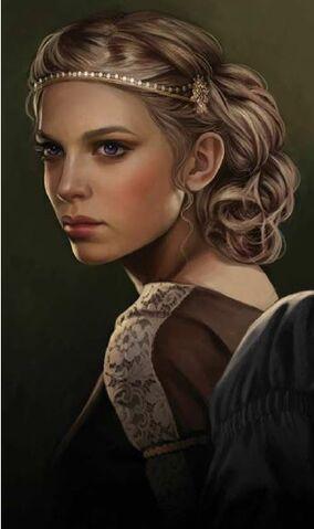 Archivo:Elaena Targaryen by Magali Villeneuve©.jpg