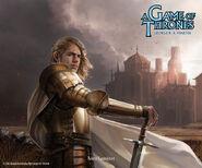 Jaime Lannister by Alexandre Dainche, Fantasy Flight Games©