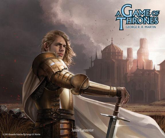Archivo:Jaime Lannister by Alexandre Dainche, Fantasy Flight Games©.jpg