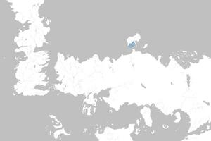 Mapa Bahía de las Ballenas