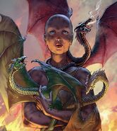 Dany dragons funeral pyre by Mike S. Miller©