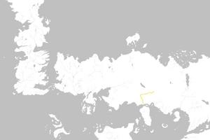 Mapa Camino de Arena