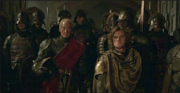 Archivo:Tywin y Loras Aguasnegras HBO.jpg