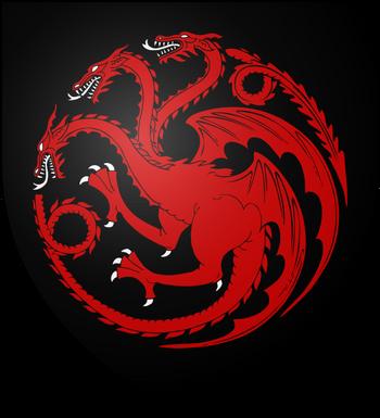 Escudo de La Casa Targaryen