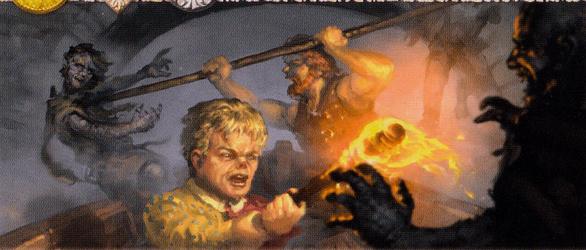 Archivo:Tyrion contra los Hombres de Piedra by Lukasz Jaskolski, Fantasy Flight Games©.jpg