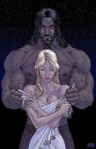 Archivo:Dany and Drogo by Mike S. Miller©.jpg