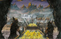 Colmillo Dorado by Franz Miklis, Fantasy Flight Games©