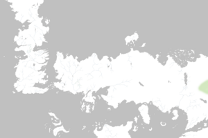 Mapa Ciudades de los Hombres Sin Sangre