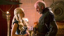 Daenerys y Barristan HBO