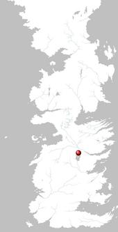 Mapa Harrenhal