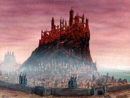 Colina de Aegon by Franz Miklis, Fantasy Flight Games©