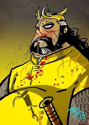 Archivo:Robert Baratheon by The Mico©.jpg