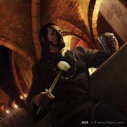 Benjen Stark by Tiziano Baracchi, Fantasy Flight Games©