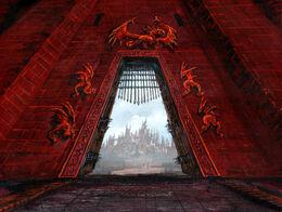 Puerta del Dragón by Franz Miklis, Fantasy Flight Games©.jpg