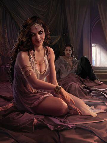 Archivo:Arianne Martell by Magali Villeneuve, Fantasy Flight Games©.jpg