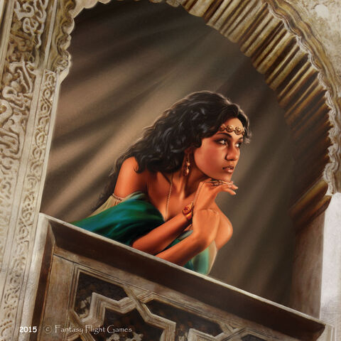 Archivo:Arianne Martell by Tiziano Baracchi, Fantasy Flight Games©.jpg