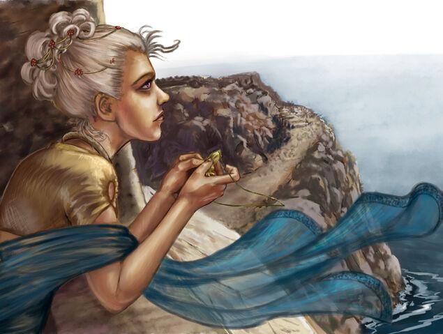 Archivo:Day dreaming by Veronica Jones, Fantasy Flight Games©.jpg