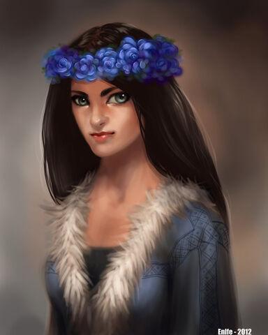 Archivo:Lyanna Stark by Enife©.jpg