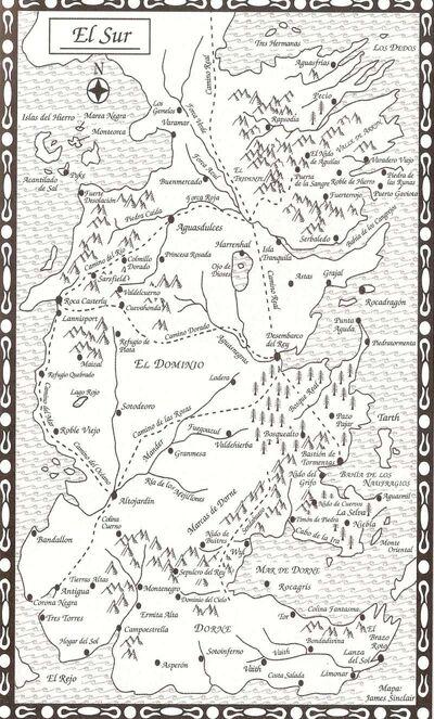 Mapa El Sur FdC