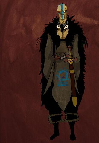 Archivo:Magnar of Thenn by Joe Harty©.jpg