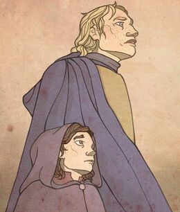 Brienne y Podrick by ~mustamirri©