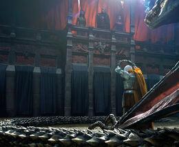Daemon Targaryen offering his crown by Chase Stone©
