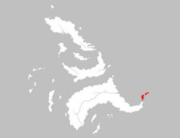 Mapa Cabeza de Lagarto