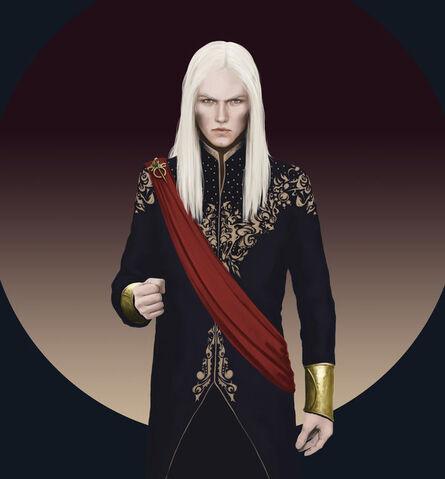Archivo:Viserys Targaryen by Dennis Maznev©.jpg