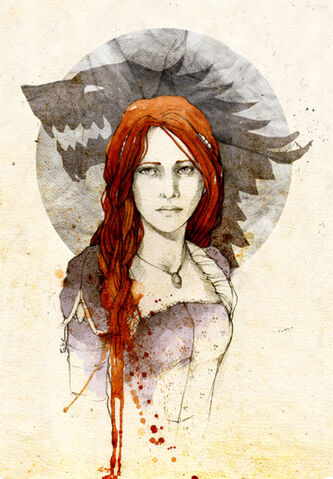 Archivo:Sansa Stark by Elia Mervi©.jpg