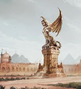 Plaza of Pride by Juan Carlos Barquet, Fantasy Flight Games©