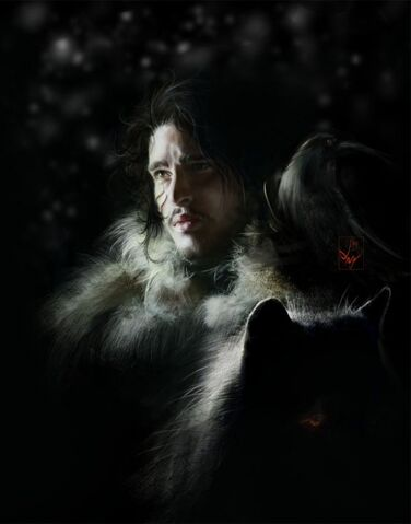 Archivo:Jon Nieve by Anja Dalisa©.jpg