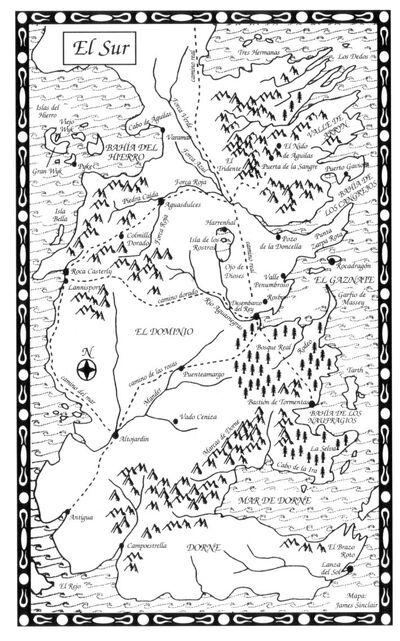 Mapa El Sur CdR
