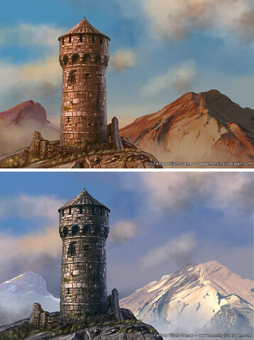 Archivo:Torre de la Alegría by Henning Ludvigsen, Fantasy Flight Games©.jpg