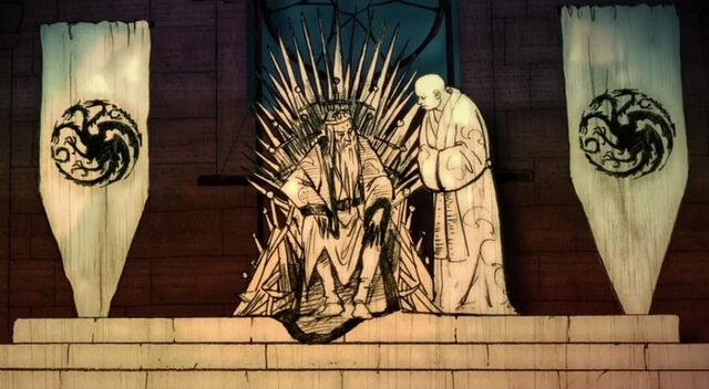 Archivo:Varys sirviendo a Aerys II HBO.jpg
