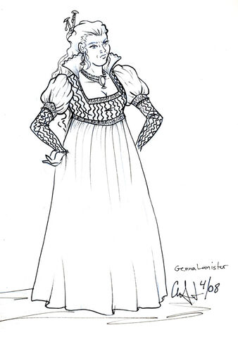 Archivo:Genna Lannister by CinsAngel©.jpg