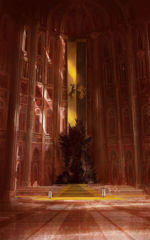 Archivo:Iron Throne Lannister by Marc Simonetti©.jpeg