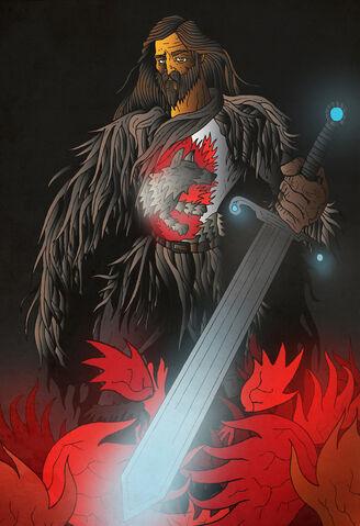 Archivo:Lord Eddard Stark by ~acazigot©.jpg