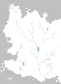Mapa Lago Daga