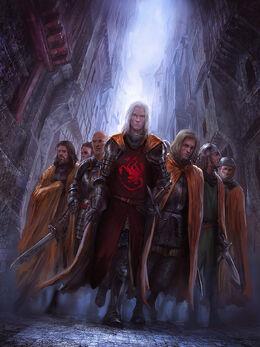 Daemon Targaryen Guardia de la Ciudad by Marc Simonetti©