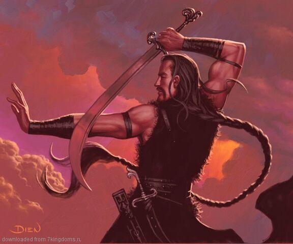 Archivo:Drogo by Chris Dien, Fantasy Flight Games©.jpg