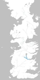 Mapa río Aguasnegras
